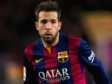 Jordi Alba for Barcelona on December 7, 2014