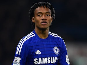 Juan Cuadrado for Chelsea on February 11, 2015