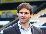 Kevin Kilbane during BBC television's football focus prior to kickoff during the Barclays Premier League match between Hull City and West Ham United at KC Stadium on September 28, 2013
