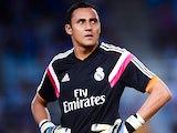 Keylor Navas for Real Madrid on August 31, 2014