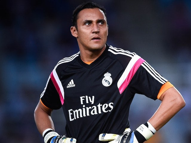 Keylor Navas for Real Madrid on August 31, 2014