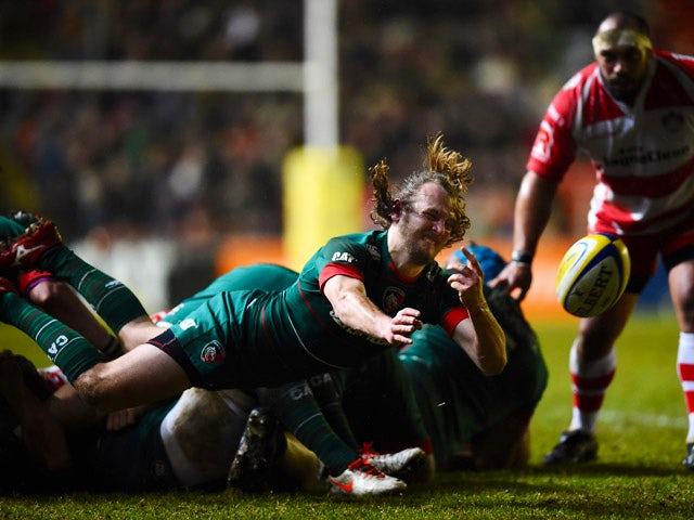 Result: Burns kicks Leicester past Gloucester