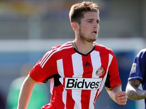Liam Agnew for Sunderland on August 9, 2014