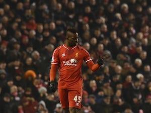 Team News: Sturridge, Balotelli left on Liverpool bench