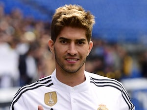 Lucas Silva for Real Madrid on January 26, 2015