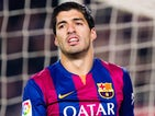 Luis Suarez for Barcelona on January 11, 2015