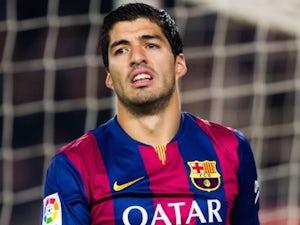Luis Suarez for Barcelona on January 11, 2015