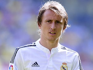 Luka Modric for Real Madrid on September 27, 2014