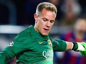 Marc-Andre ter Stegen for Barcelona on December 14, 2014
