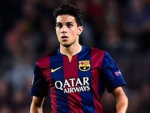 Marc Bartra for Barcelona on October 21, 2014