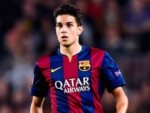 Marc Bartra for Barcelona on October 21, 2014