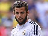 Nacho for Real Madrid on September 27, 2014