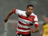 Nathan Tyson of Doncaster Roversduring the Sky Bet League One football match between Doncaster Rovers and Sheffield United at Keepmoat Stadium on November 15, 2014