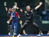 New Zealand's spin bowler Daniel Vettori appeals for the wicket of England's Kevin Pietersen during their Group C Cricket World Cup Match at Beausejour cricket ground in Gros Islet, St. Lucia 16 March 2007