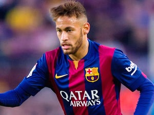 Neymar for Barcelona on December 11, 2014