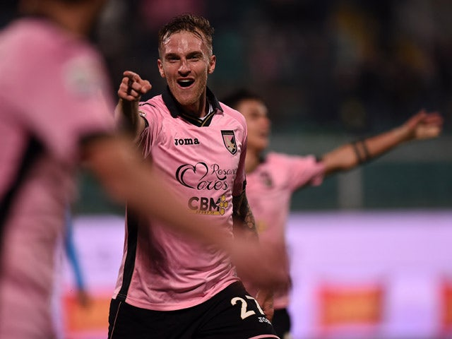 Result: Ten-man Palermo hold on to beat Udinese