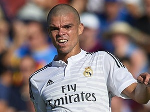Pepe for Real Madrid on October 18, 2014