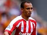 Peter Odemwingie for Stoke on August 24, 2014