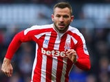 Phil Bardsley for Stoke on February 8, 2015