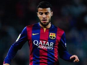 Rafinha for Barcelona on February 11, 2015