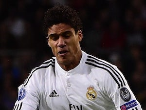 Raphael Varane for Real Madrid on November 4, 2014
