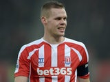 Ryan Shawcross for Stoke on January 4, 2015