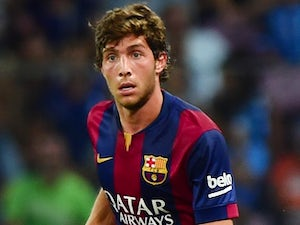 Sergio Roberto for Barcelona on August 6, 2014