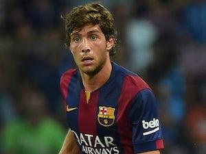 Sergio Roberto for Barcelona on August 6, 2014