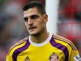 Vito Mannone for Sunderland on October 18, 2014
