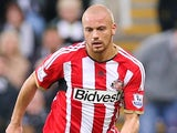 Wes Brown for Sunderland on December 21, 2014