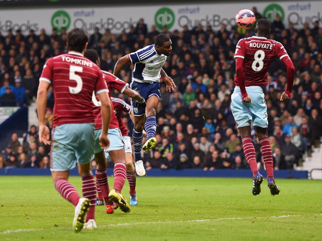 Result: West Brom thrash Hammers to reach quarter-finals