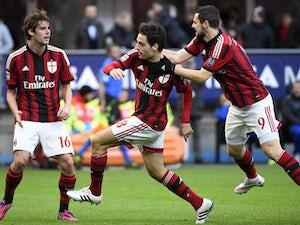 Milan hold narrow lead at Atalanta