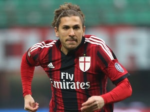 Alessio Cerci for AC Milan on February 15, 2015