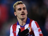 Antoine Griezmann for Atletico Madrid on January 24, 2015