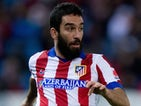 Arda Turan for Atletico Madrid on December 14, 2014