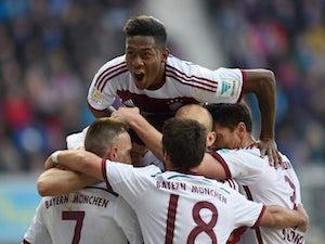 Bayern score six in Paderborn thrashing