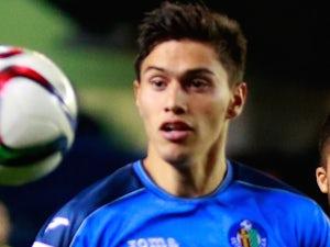 Emiliano Velazquez for Getafe on January 21, 2015