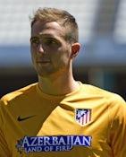 Jan Oblak for Atletico Madrid on July 22, 2014