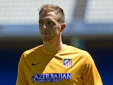Jan Oblak for Atletico Madrid on July 22, 2014