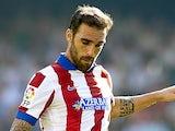 Jesus Gamez for Atletico Madrid on October 4, 2014