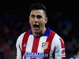 Jose Gimenez for Atletico Madrid on January 7, 2015