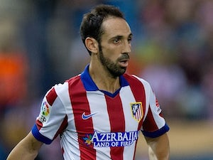 Juanfran for Atletico Madrid on August 30, 2014