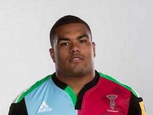 Kyle Sinckler of Harlequins poses for a picture during the photoshoot for BT Sport on August 18, 2014