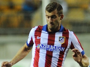 Leo Baptistao for Atletico Madrid on August 16, 2015