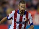 Mario Suarez for Atletico Madrid on August 30, 2014