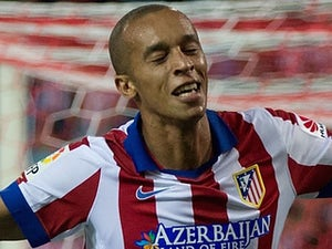 Miranda for Atletico Madrid on August 30, 2014