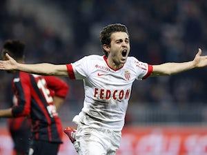 AS Monaco fight back to beat 10-man Nice