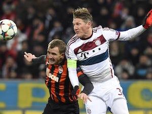 Bayern stutter against Shakhtar