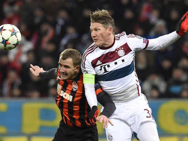 Result: Bayern stutter against Shakhtar