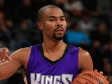 Ramon Sessions #9 of the Sacramento Kings controls the ball against the Denver Nuggets at Pepsi Center on November 3, 2014